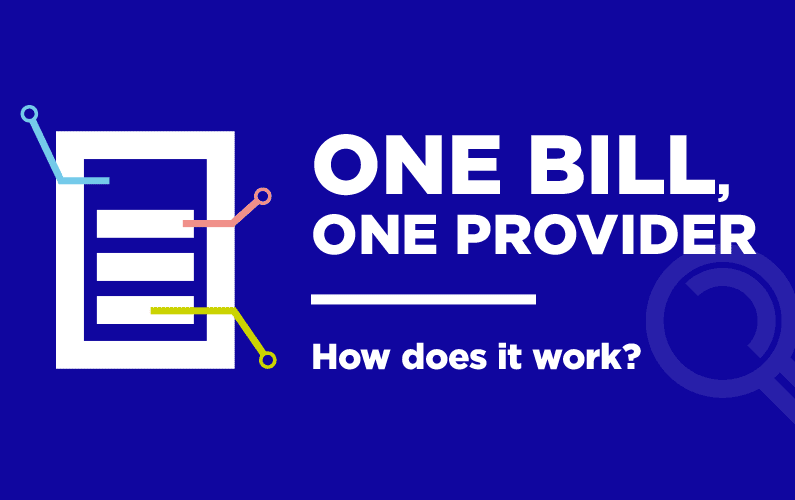 One bill, one provider – how does it work?